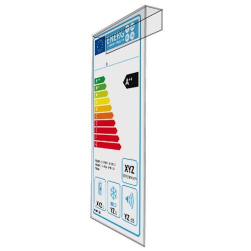 Energielabel-Einhängeschild 115 x 225 mm