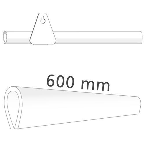 Klemmprofil für Plakate, 600 mm