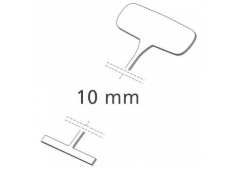 Heftfäden standard, 10 mm, Nylon