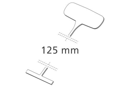 Heftfäden standard, 125 mm, PP