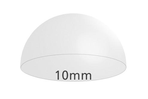 Elastikpuffer, klar, 10 mm Ø