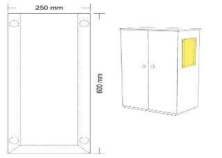hart pvc taschen zum kleben heckendorf gmbh. Black Bedroom Furniture Sets. Home Design Ideas