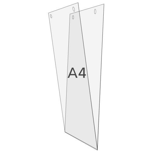 U-Hülle DIN A4 zum Aufhängen, Hochformat