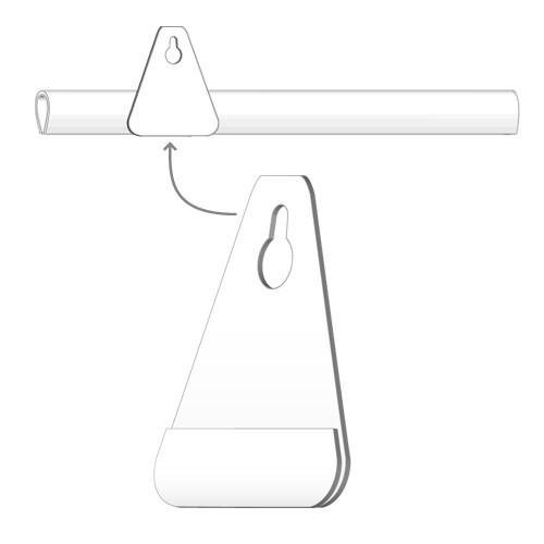 Klemmprofil-Aufhängeöse