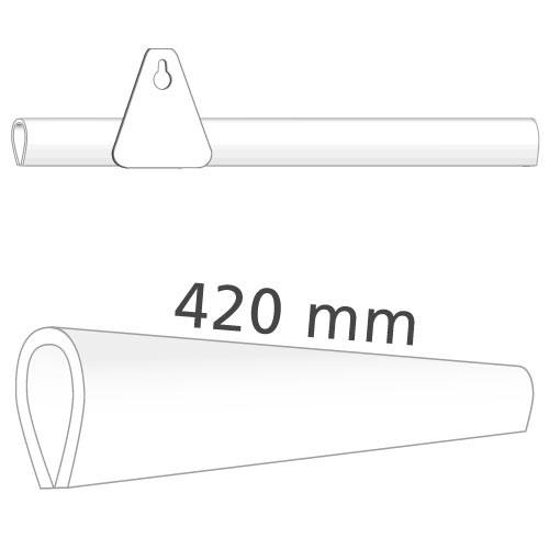 Klemmprofil für Plakate, 420 mm
