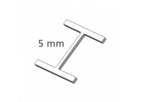 Heftfäden, H-Typ, 5 mm, Nylon