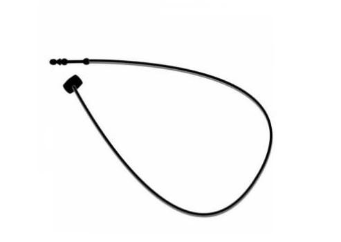 Sicherheitsfäden, 125 mm, schwarz