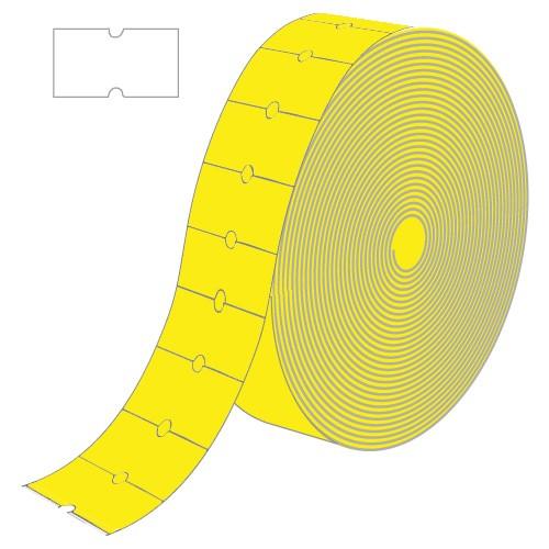 Etiketten für Motex MX-5500 NEW, gelb