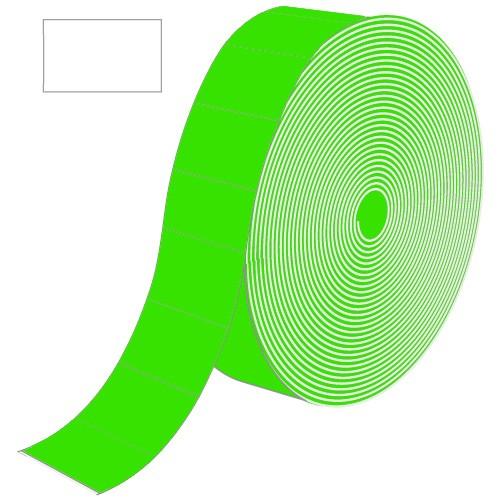 Etiketten für Contact, grün, rechteckig