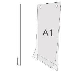 Plakattasche DIN A1 Hochformat