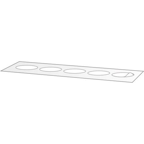 Klebepunkt, klar, 30 mm Ø, Verschlussklebepunkt