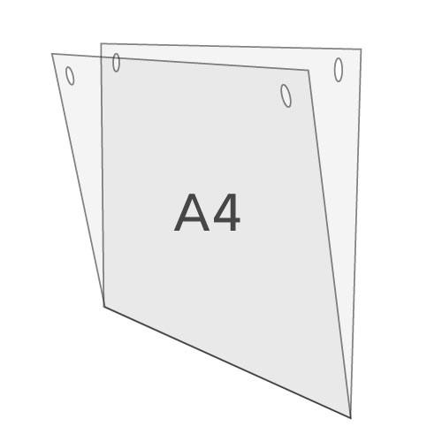 U-Hülle DIN A4 zum Aufhängen, Querformat
