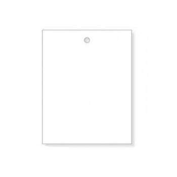 Stückwarenanhänger, weiß, 30 x 40 mm