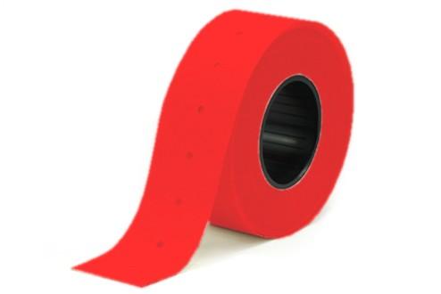 Etiketten für Meto 3329, rot