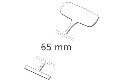 Heftfäden standard, 65 mm, PP