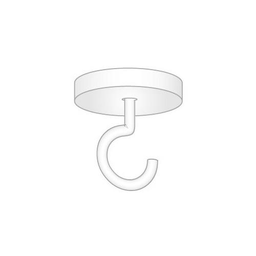 Deckenmagnet mit Haken, 36 mm Ø