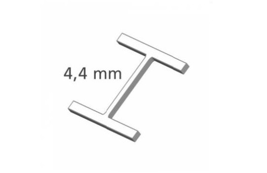 Heftfäden, H-Typ, extra fein, 4,4 mm, Nylon